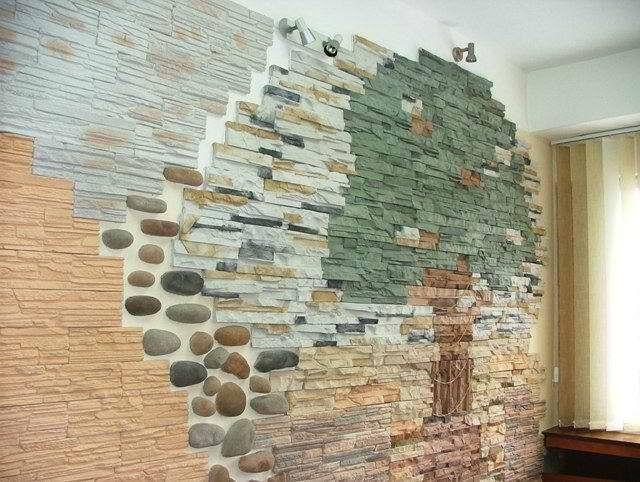 Мозаика на стене своими руками